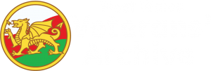 West Wales Veterans' Archive Logo in White