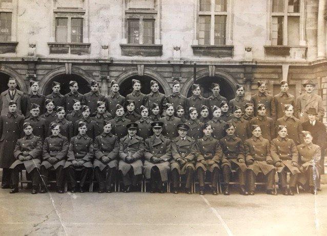 Squadron Photograph, Cardiff University Air Squadron, 1942